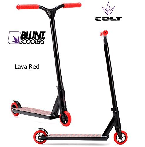 Blunt Colt Stunt-Scooter complete 2015 full integrated 100mm Larva Red